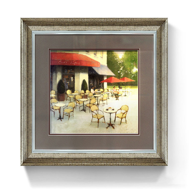 Glass Wall Mount Picture Frames Laminated Painting Photo Picture ...