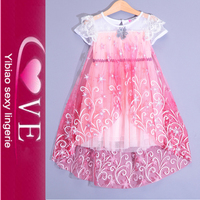 2017 Latest Kids Beautiful Flower Dress Party Wear For 2-12 Years Old Girl