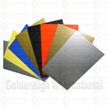 Cheap hot selling new material ABS double color board