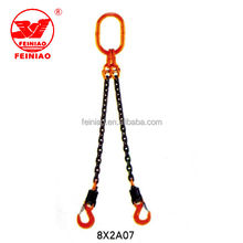 Safe Insulated Swivel Crane Assembling Lifting Chain Sling