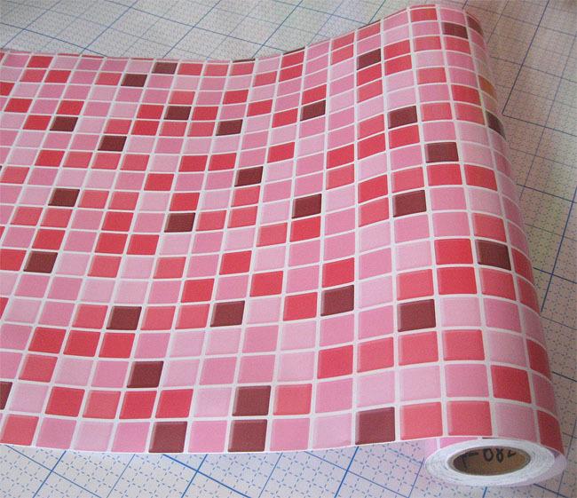auto adh sif papier peint salle de bain tanche stickers carrelage mosa que autocollants dans. Black Bedroom Furniture Sets. Home Design Ideas