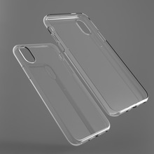 Scratch Resistant Soft TPU Ultra Slim Lightweight Crystal Clear Transparent Case For Apple iPhone X
