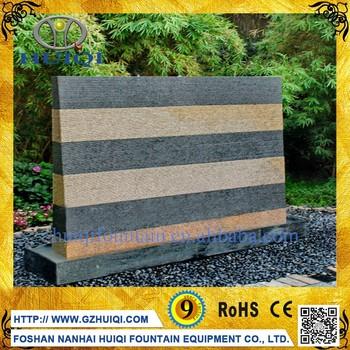Lieferant Künstliche Außen Stein Glas Wasser Wand Wasserfall Brunnen Garten  Haus Hof Dekoration