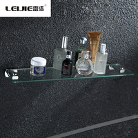 Wholesale Modern Bathroom Shelves Stainless Steel Glass Holder