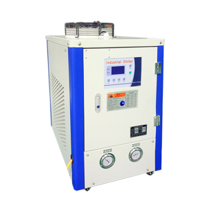 BOBAI 10kw industrial air cooled water chiller with heating pump is thermal control unit