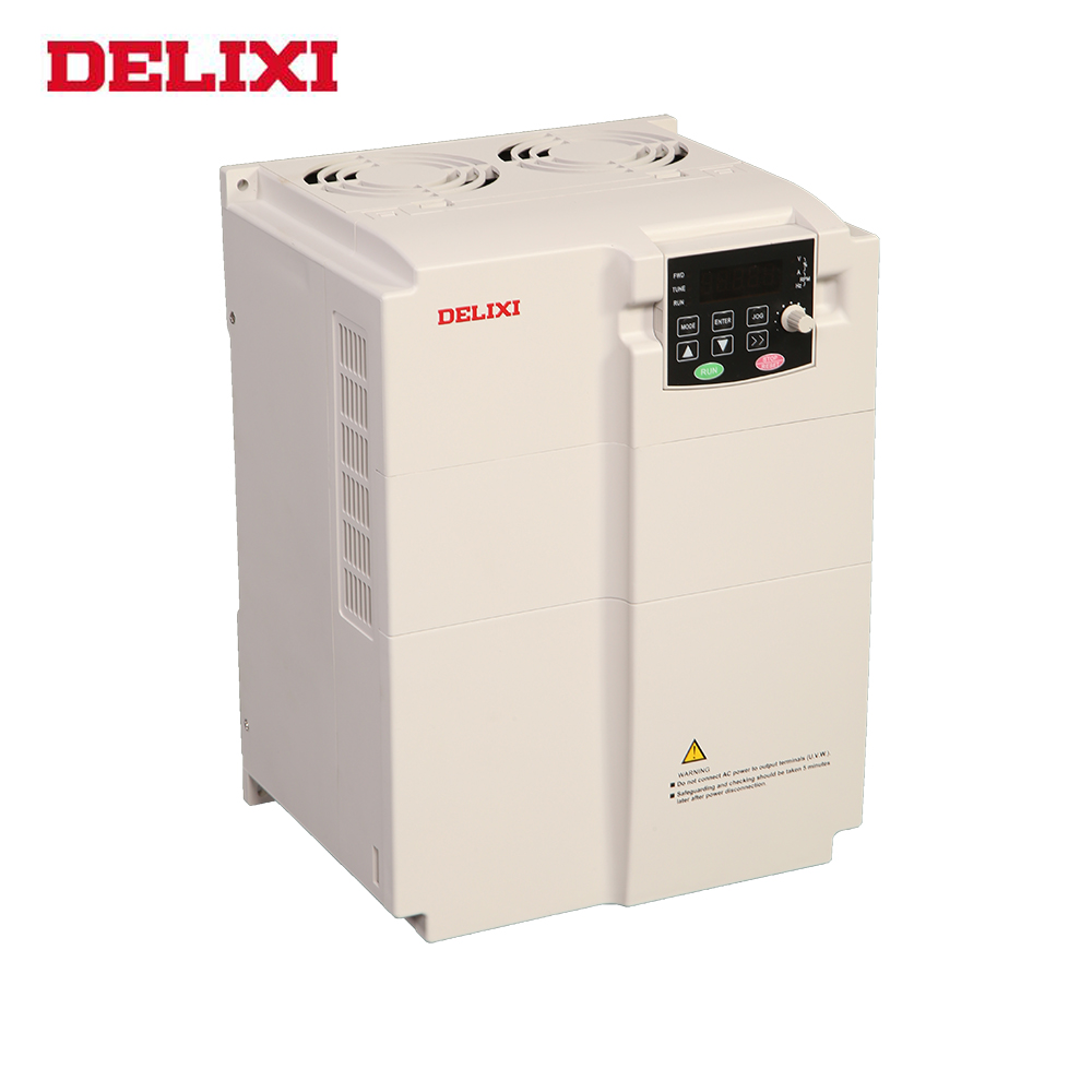 DELIXI E102 economic ac variable frequency inverter 10kw inverter 3 phase 380v 22 kw vfd