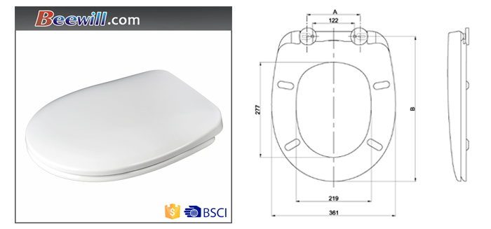 uk toilet seat sizes. European standard universal size loo toilet seat for uk market Standard Universal Size Loo Toilet Seat For Uk Market