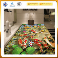 Waterproof Chemical Resistance Epoxy Resin 3D floor Paint