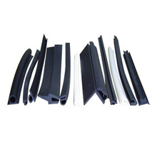 Good elasticity and flexibility customizd EPDM extruded gasket rubber seal strip