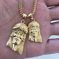 Miss Jewelry Pvd new design gold jesus pendant, gold jesus piece pendant MJHP118