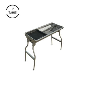 Outdoor big bbq round charcoal grill