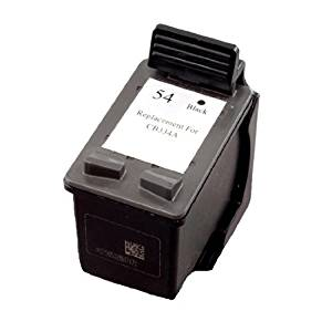 INKUTEN Hewlett Packard (HP) CB334AN (HP 54) HP54 High Yield Black Replacement Ink Cartridge