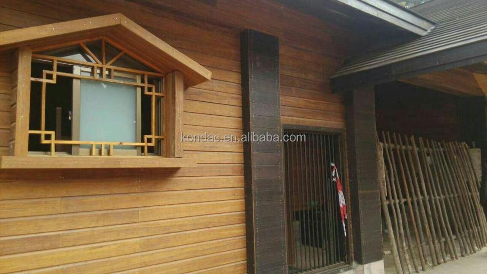 high strength outdoor bamboo wall board bamboo exterior wall cladding bamboo slat wall cladding