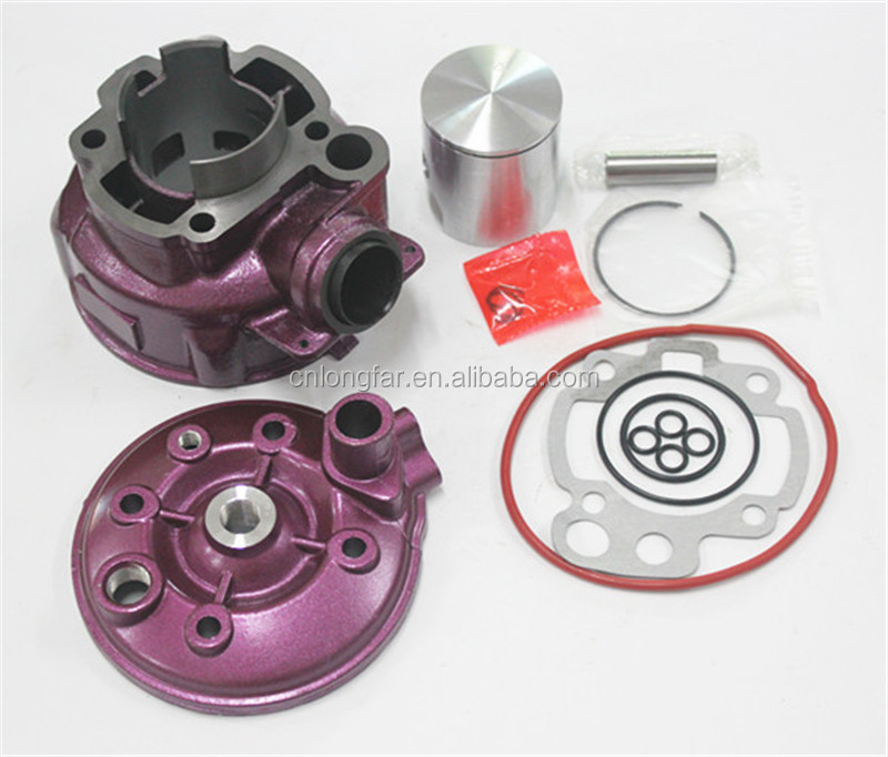 AM6 49mm cilindro con pistone kit AM3-AM6 TZR DT XP6 XR6 50 Zylinder Kolben Pistone del CILINDRO Cylindre RACING 70 80 49mm