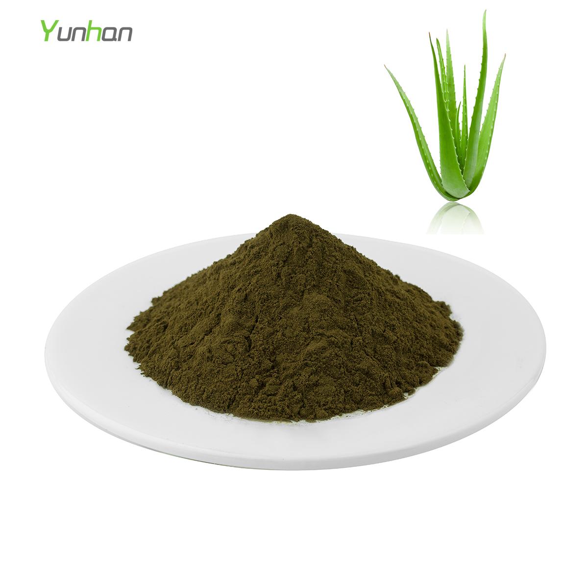 Organico di foglie di aloe vera estratto in polvere del 90% di aloe vera gel all'ingrosso
