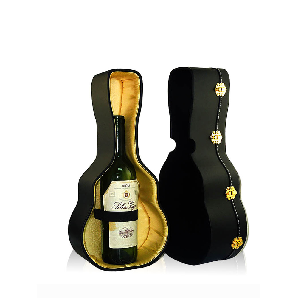 Decorative Violin Shape Designbale Leather Wine Gift Box View Wine Box Psp Product Details From Dongguan Pink Store Package Co Ltd On Alibaba Com
