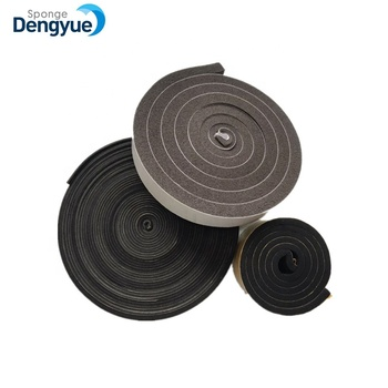 Shower Door Bottom Rubber Seal Strip Self Adhesive Rubber Seal Strip
