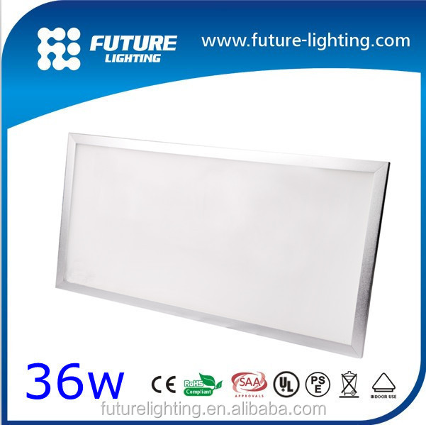 Indoor Square 300x1200mm high brightness ceiling flat lamp 36W LED panel light