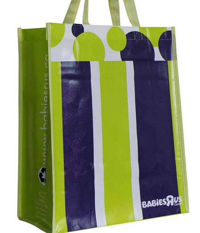 fashion reusable laminated advertisement non woven bag/ promotion pp nonwoven shopping bag