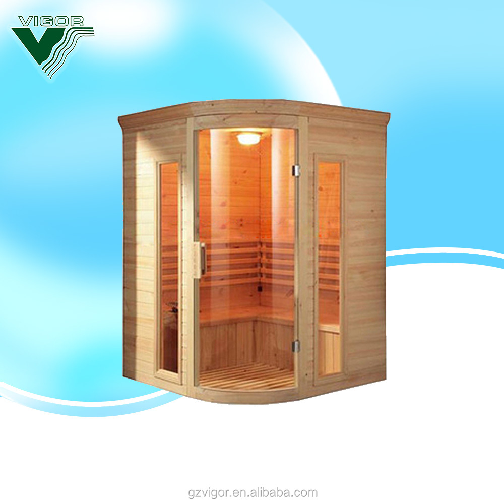 2015 China Factory sauna cabin price with sauna heater accessory