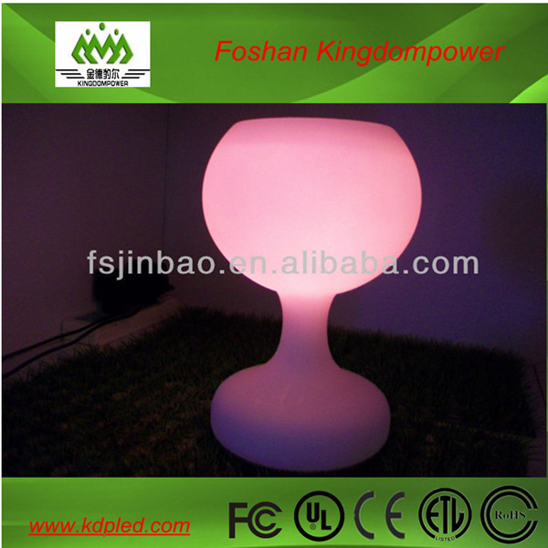 wireless led table lamp rechargeable battery Win Light RGBW led decoration light