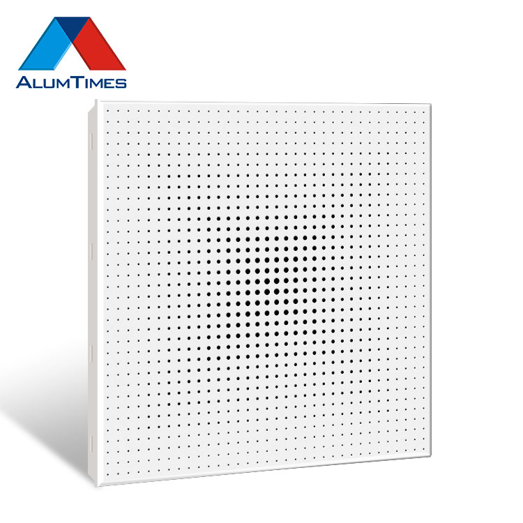 Aluminum Clip In Ceiling Tile Suspended False Ceiling Board