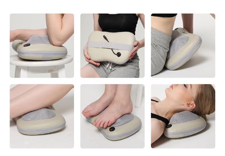 Tuv Ruian Leimaisi Pu Oem Home Kneading Neck Pain Massage Pillow ...
