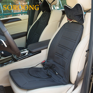 Universal size Cheap DC 12V electric car heated seat cover