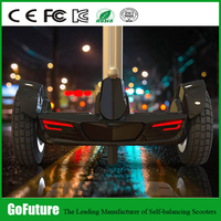 OFF ROAD SUV safer electric stand up scooter with handle rod