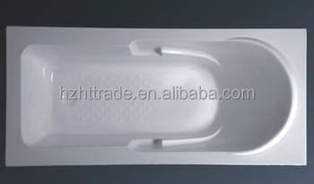 1500mm 59 Inch Small Size Acrylic Bathtub Bath Tray Shower Base Pan