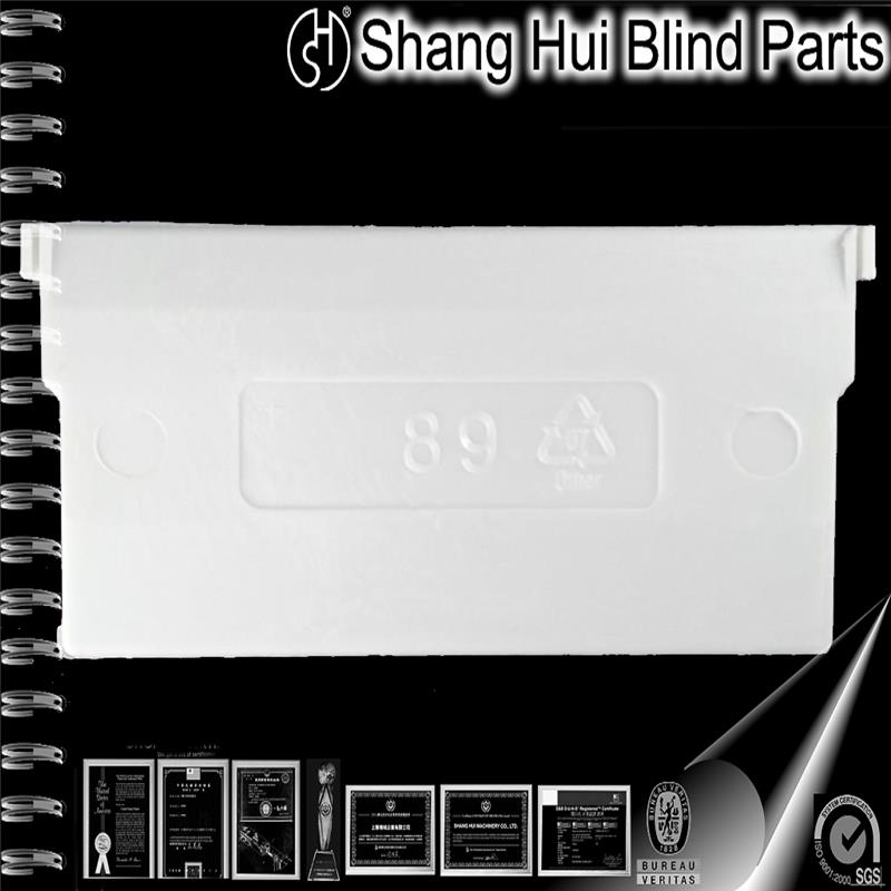 "Top Quality home decoration modern vertical blinds components 89mm(3.5"") CHAINLESS Bottom Weight"