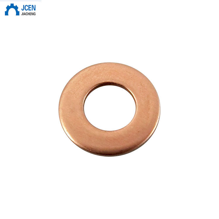 80pcs M6-m20 8 Sizes Solid Copper Gasket Washers Sealing Ring 8 Sizes Flat Ring Seal Kit For Hardware Accessories With Box Numerous In Variety Back To Search Resultshome Improvement