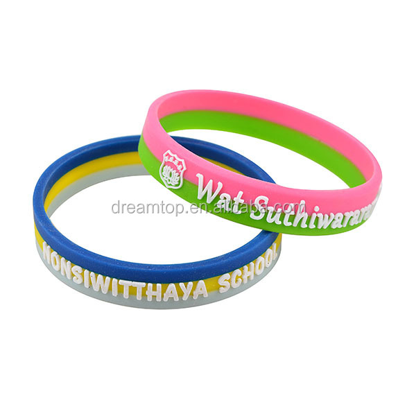 High Quality China Productor India Silicone Bracelets