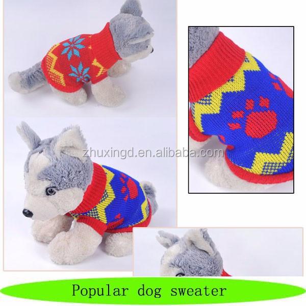 Small Dog Sweater Free Knitting Patternhand Knit Crocheted Dog