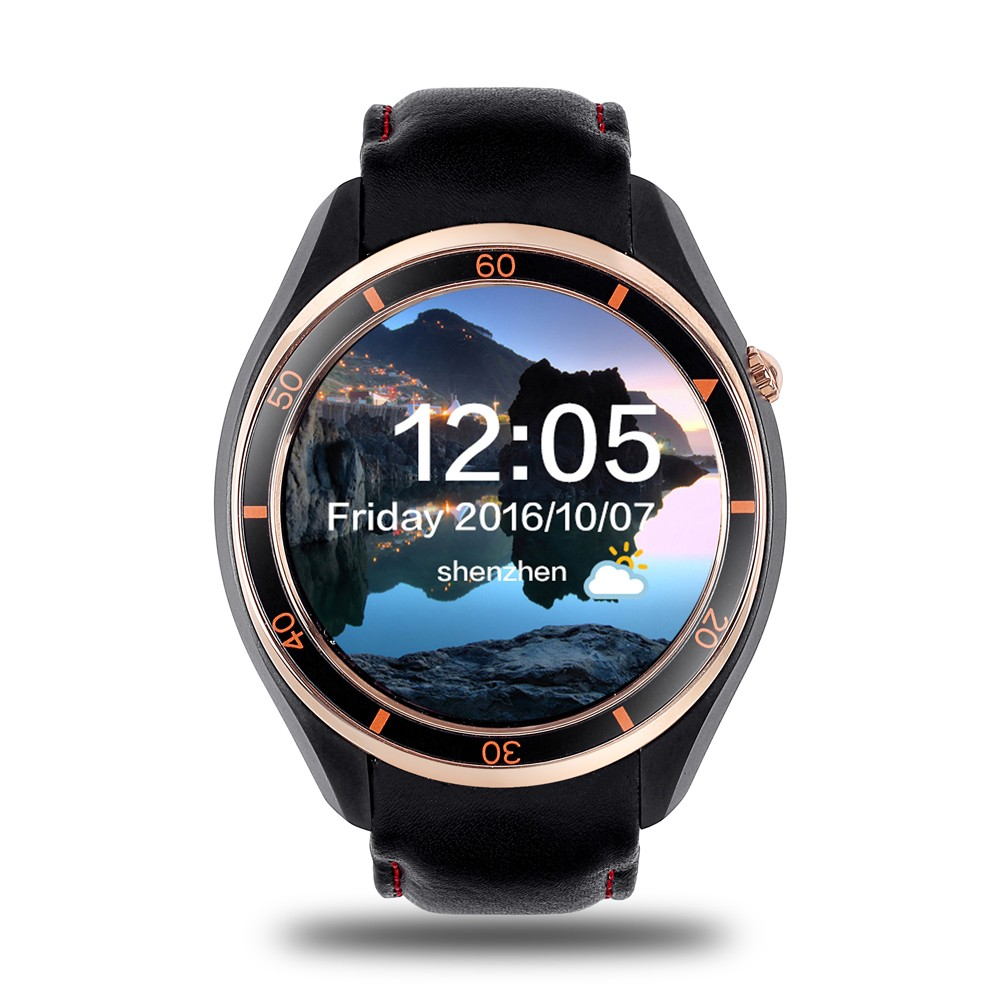 MTK6580,1.3GHZ quad core i3 touch screen smart watch WIFI bluetooth watch