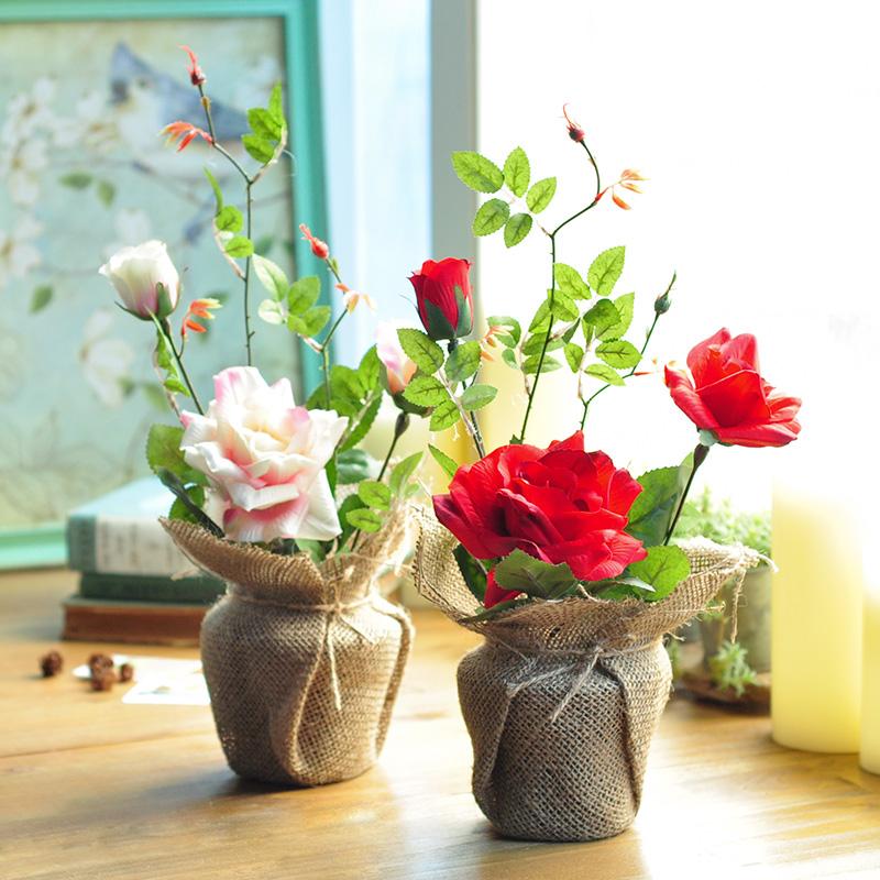 online kaufen gro handel rote rosen vase aus china rote rosen vase gro h ndler. Black Bedroom Furniture Sets. Home Design Ideas