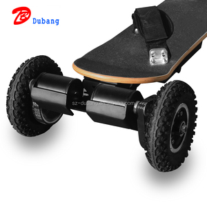 2018 new design off road electric skateboard high speed 50KM/H boosted skateboard with motor protection board