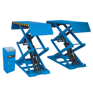 3T load Full Rise Scissor Lift for Car without Pit/ scissor car hoist