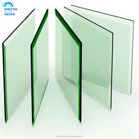 flat bend polished edge 5mm thick tempered glass with SGCC CCC