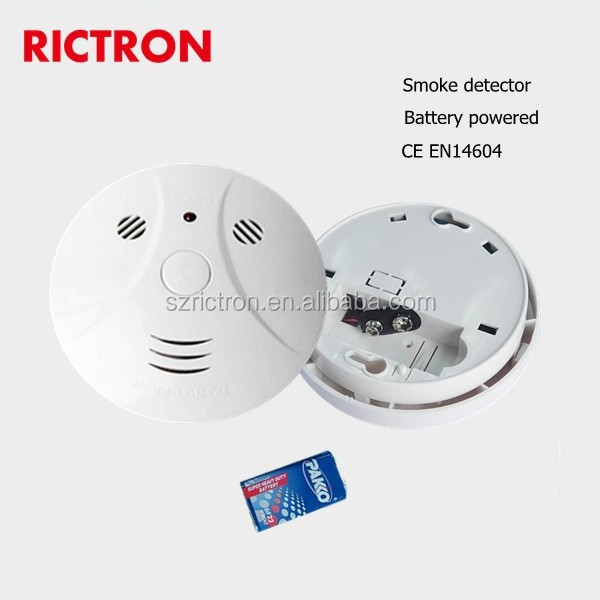 smoke alarm with built-in 10 years lithium battery