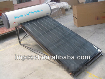 Flat Panel Solar Water Heating System Buy Wall Hanging