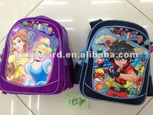 wholesale fashion snow white schoolbags cheapest book bags