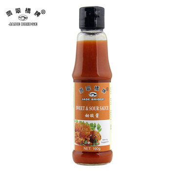 Chinese hot sell mini sweet sour sauces red dipping sauces brand