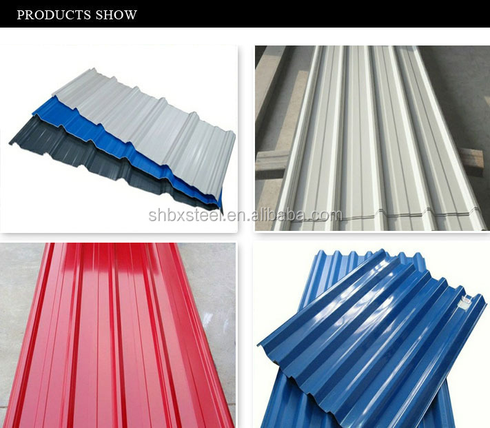 Alibaba Tin Color Galvanized Roofing Sheets