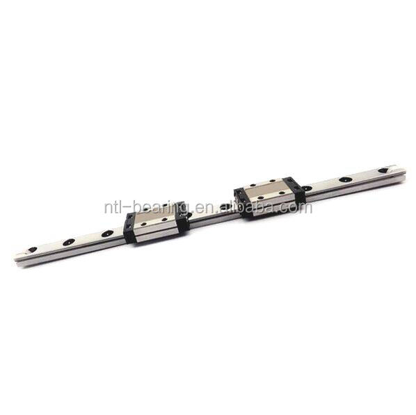 High precision Miniature linear guide and blocks MGN9