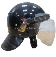 High transmittance PC material anti riot helmet