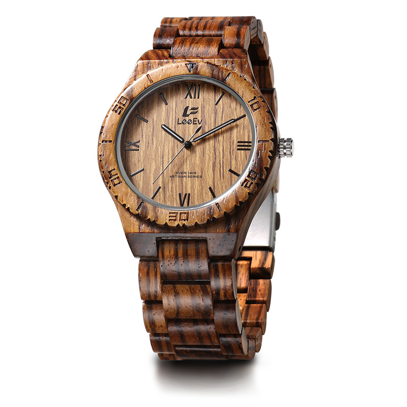 Buy Best Sellers For 2017 Wristwatch Zebra Wood Watch for <strong>Men</strong>, Wholesale AAA Quality OEM <strong>Mens</strong> Wooden Watch