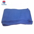 50PCS Per Bag New Blue Glass Cleaning Shop Towels Blue Huck Surgical Detailing Car Cotton Wash Towel