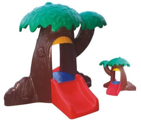 Children Plastic Mushroom Play House Kids Garden Mushroom ...