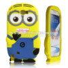 3d rubber despicable me minion case for samsung galaxy note 2